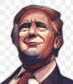 Trump Painted Avatar - Donald Trump DeviantArt Painting Illustration PNG