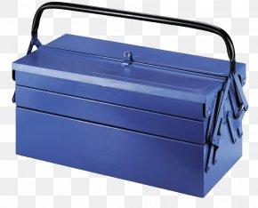Blue Metal Toolbox - Metal Toolbox PNG