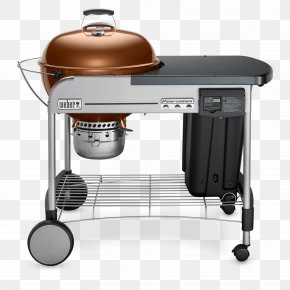 Barbecue - Barbecue Weber Performer Deluxe 22 Weber-Stephen Products Charcoal Grilling PNG