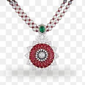 Ruby - Ruby Locket Necklace Jewellery Gemstone PNG