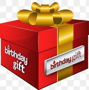 Birthday Gift Box - T-shirt Brand Box Gift PNG