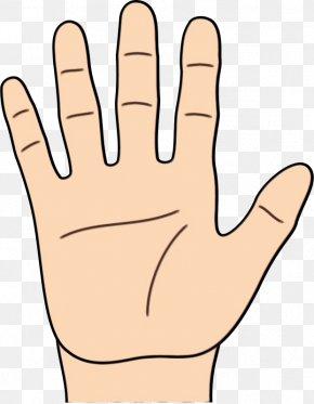 Sign Language Gesture - Child Background PNG