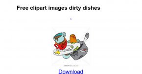 Dirty Dishes Cliparts - Tableware Clip Art PNG