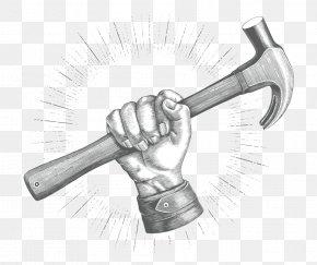 Geologists Hammer Axe - Hammer Cartoon PNG