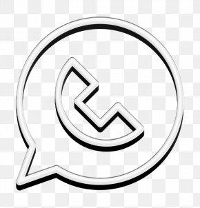 Blackandwhite Logo - Social Media Icon Whatsapp Icon Whatsapp Icon Icon PNG