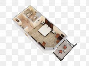 Balcony View - Floor Plan PNG