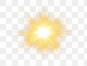 Sun Effect Transparent Clip Art Image - Sunlight Sky Yellow Pattern PNG