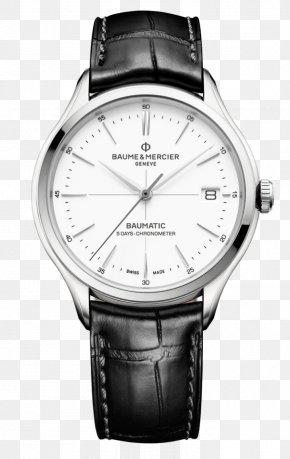 Watch - Baume Et Mercier Automatic Watch Movement Salon International De La Haute Horlogerie PNG