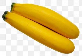 Yellow Zucchini - Yellow Banana Vegetable Zucchini Sponge Gourd PNG