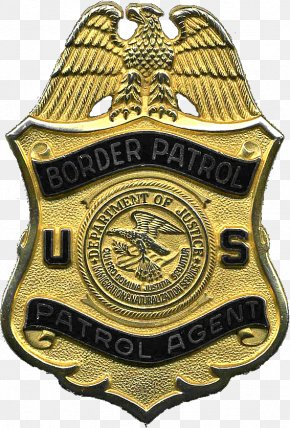 United States - United States Border Patrol United States Border Patrol Police Badge PNG