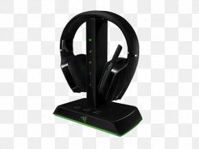 Razer Wireless Headset - Xbox 360 Wireless Headset Headphones 5.1 Surround Sound Razer Inc. PNG