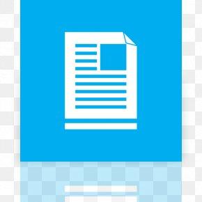Ui - Metro Document Icon Design PNG