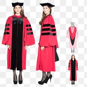 Dress - Robe Harvard University Graduation Ceremony Academic Dress Square Academic Cap PNG