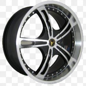 Alloy Wheel - Alloy Wheel Car Spoke Tire Rim PNG