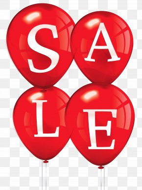 Sale Balloons Clipart Picture - Sales Balloon Clip Art PNG