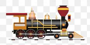 Steam Train - Train Rail Transport Steam Locomotive Illustration PNG