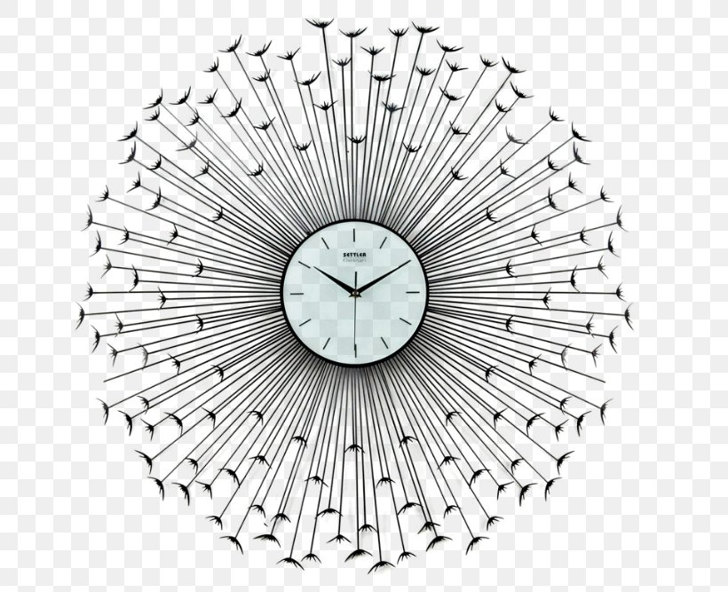Alarm Clock Wall Industrial Style, PNG, 670x667px, Clock, Alarm Clock, Bedroom, Black And White, Creative Work Download Free