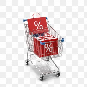 Shopping Trolleys And Shopping Bags Sale - Shopping Cart Bag Online Shopping PNG