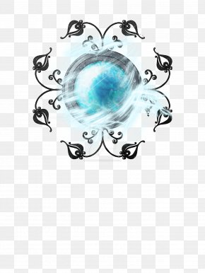 SHIVA - Turquoise Teal Body Jewellery Circle Font PNG