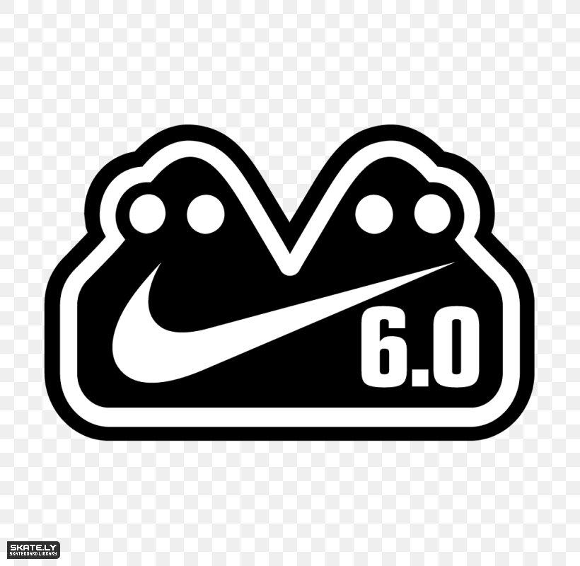 Nike Skateboarding Logo Sticker Png 800x800px Watercolor Cartoon Flower Frame Heart Download Free