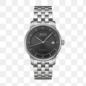 Mido Watches Baroncelli - Omega Speedmaster Rolex Submariner Rolex Daytona Watch Chronograph PNG