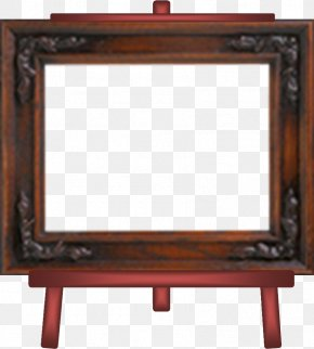 Chevalet - Table Easel Painter Painting Picture Frames PNG