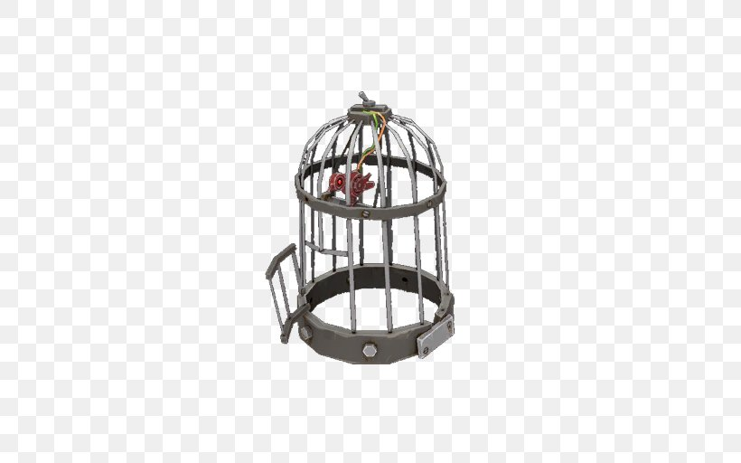 Team Fortress 2 Portal Video Game Birdcage, PNG, 512x512px, Team Fortress 2, Birdcage, Cage, Keke, Metal Download Free