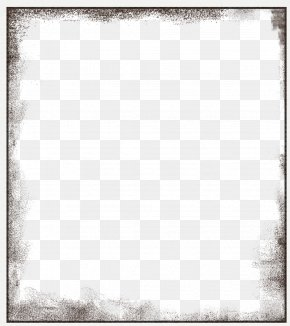 Creative Black Frame - Black And White Square Area Pattern PNG