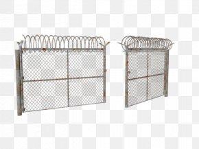 Military Material - 3D Modeling Fence Wavefront .obj File 3D Computer Graphics Gate PNG