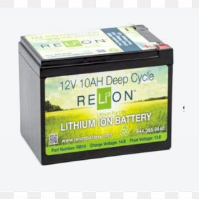 Lithium-ion Battery - Electric Battery Lithium-ion Battery Deep-cycle Battery Lithium Iron Phosphate Battery Ampere Hour PNG