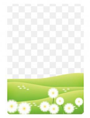 Dandelion Green Lawn,Meadow - Lawn Euclidean Vector Dandelion PNG