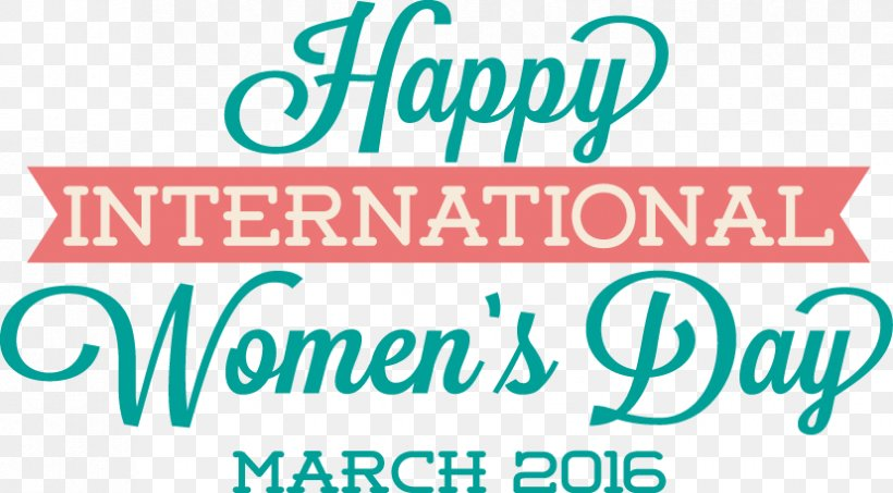 International Womens Day Fathers Day Woman Typography, PNG, 827x457px, International Womens Day, Area, Banner, Blue, Brand Download Free