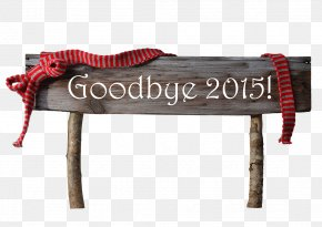 Stake Goodbye - New Year's Day Christmas Card New Year Card PNG