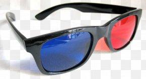 3d Cinema Glasses Image - Polarized 3D System Glasses 3D Film PNG