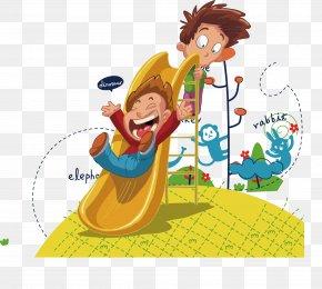 Cute Cartoon Kids - Child Cartoon Clip Art PNG