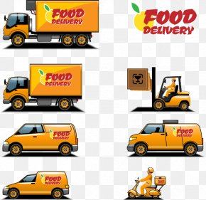 Food Truck - Transport Cargo Icon PNG