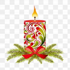 Christmas Candles Are Optional - Christmas Decoration Candle Christmas Ornament PNG