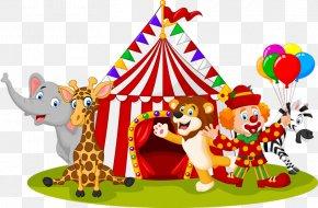 Circus Animals - Circus Cartoon Stock Illustration Illustration PNG