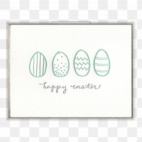 Letterpress - Paper Easter Bunny Greeting & Note Cards Letterpress Printing PNG