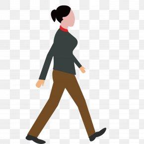 Walking Woman - Walking PNG