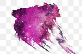 Red Ink Creative - Ink Red Nebula Galaxy PNG