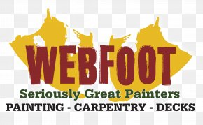 Relylocal Bend Or - Logo Brand Webfoot Painting Co. Font PNG