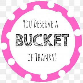 Thanks - Bucket Information Organization Idea Statistics PNG