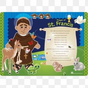 Noah's Animals - Prayer Of Saint Francis Child Stigmata PNG