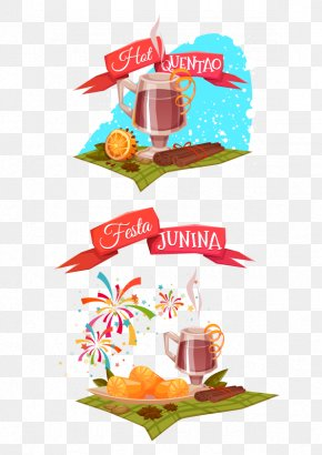 Drinks Summer Drinks - Brazil Festa Junina Party Clip Art PNG