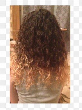 Hair - Hair Coloring Caramel Color Long Hair Brown Hair PNG
