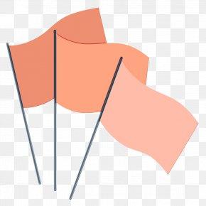 Paper Peach - Flag Cartoon PNG