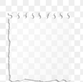 Ripped - Paper Rectangle White Area PNG