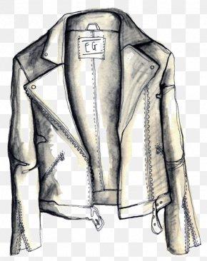 Fashion Ilustration - Leather Jacket T-shirt Clothing Fashion PNG