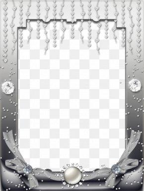 Gray Brick Decorative Border - Picture Frame Brick White Film Frame PNG